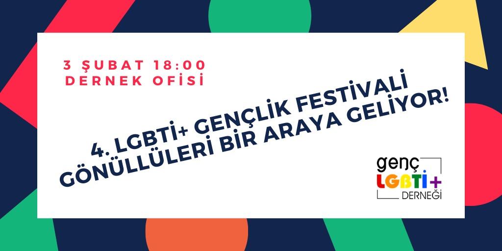4. LGBTİ+ Gençlik Festivali gönüllüleri bir araya geliyor Kaos GL - LGBTİ+ Haber Portalı