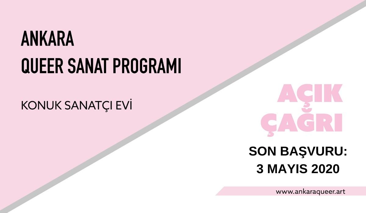 Ankara Queer Sanat Programı Konuk Sanatçı Evi'ne başvuru süresi uzatıldı Kaos GL - LGBTİ+ Haber Portalı