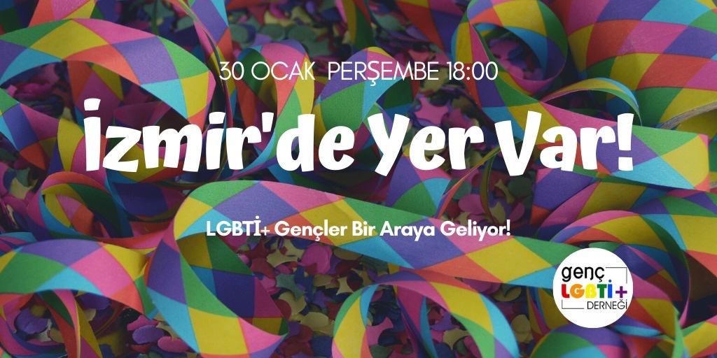 """Genç LGBTİ+'dan """"İzmir'de Yer Var"""" buluşmaları   Kaos GL - LGBTİ+ Haber Portalı"""