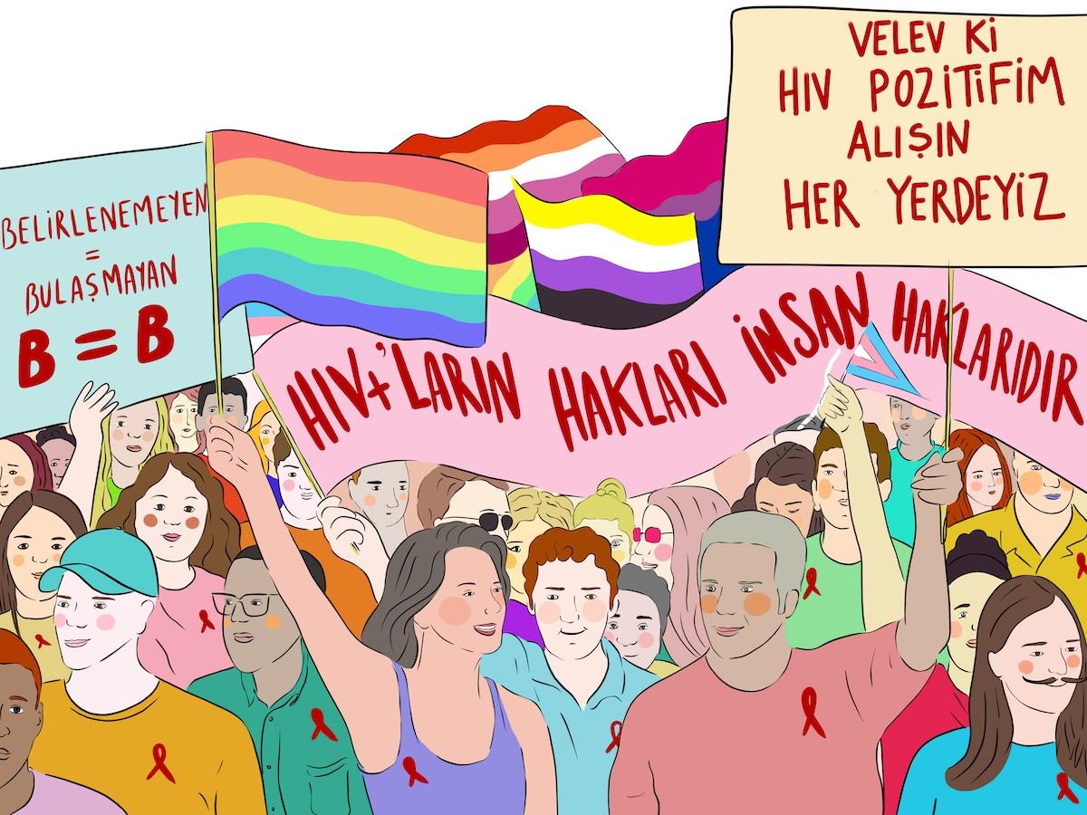 HIV'le Yaşayan LGBTİ+'ların İnsan Hakları Raporu yayınlandı! Kaos GL - LGBTİ+ Haber Portalı