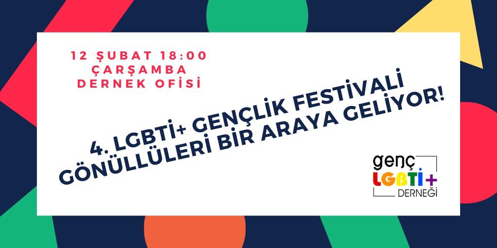 LGBTİ+ Gençik Festivali'nin gönüllüsü olmak ister misiniz? Kaos GL - LGBTİ+ Haber Portalı