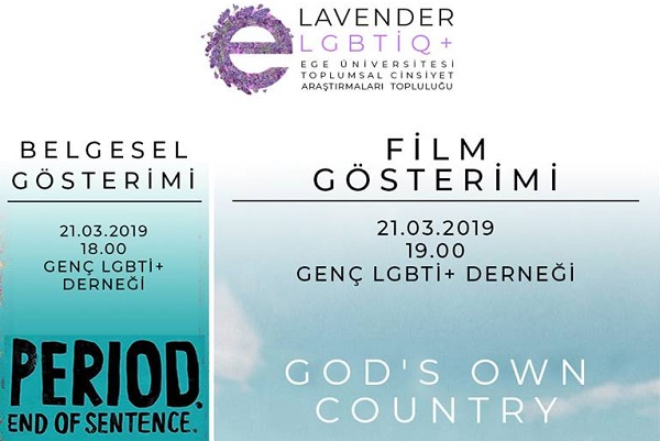 "Lavender'den gösterim: ""Period. End Of Sentence."" ve ""God's Own Country"" 