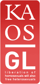 Kaos GL - News Portal for LGBTI+ Logo
