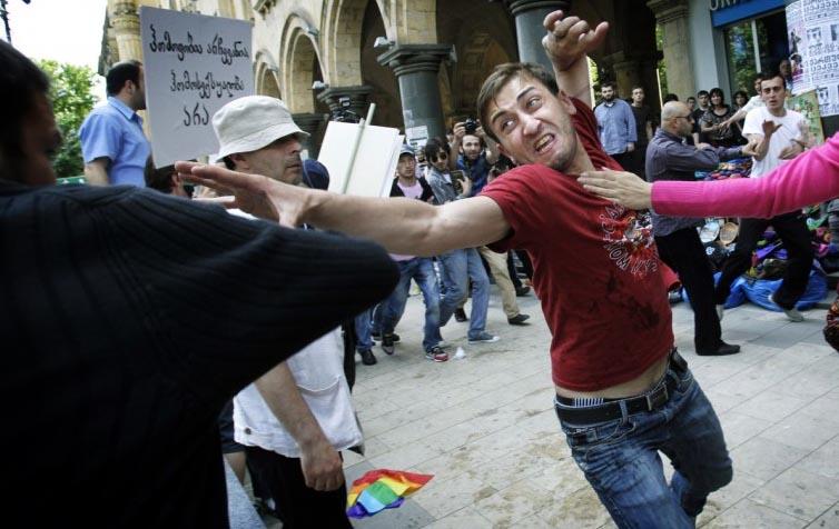 Gürcistanda Homofobik Saldırı   Kaos GL Haber Portalı